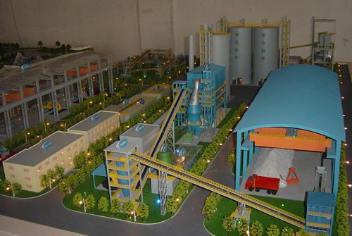 中石油工业模型